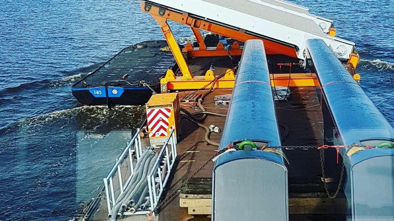 Montage Nieuwe Vechtbrug Weesp
