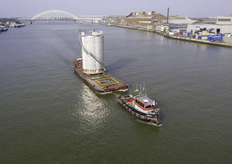 Tanktransport naar Antwerpen